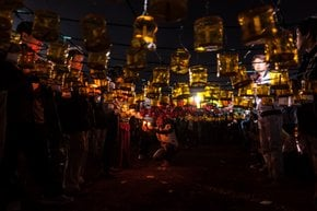 Tazaungdaing Light Festival