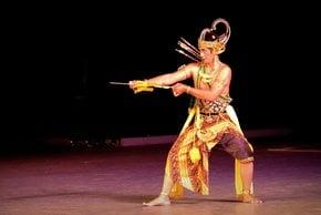 Ballet Ramayana à Pramban