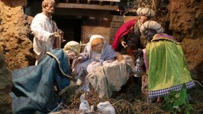 Christmas Belén or Nativity Scene