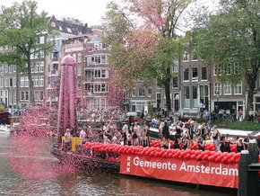 Amsterdam Gay Pride: Desfile do Canal