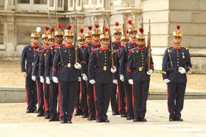 Solemn Changing of the Guard at the Royal Palace