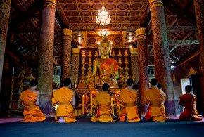 Boun Khao Phansa or the First Day of Buddhist Lent