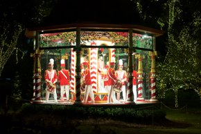 Dallas Arboretum: 12 Days of Christmas