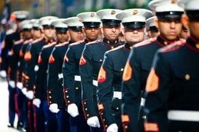 Tag Parade der Veteranen