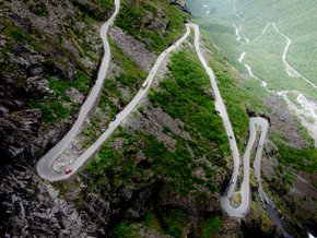 Trollstigen—the Troll's Road