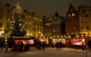 Mercados navideños en Estocolmo