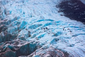 Hiking through the Glaciers​