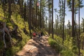 Wandern im Tatra-Gebirge