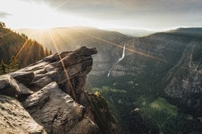 Glacier Point Overlook