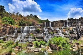 Cascadas impresionantes de Dalat