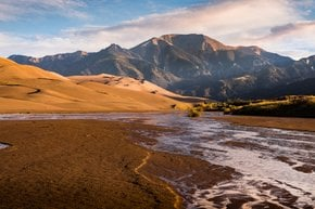 Medano Creek, Great Sand Dunes National Park and Preserve
