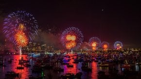 Sydney New Year's Fireworks