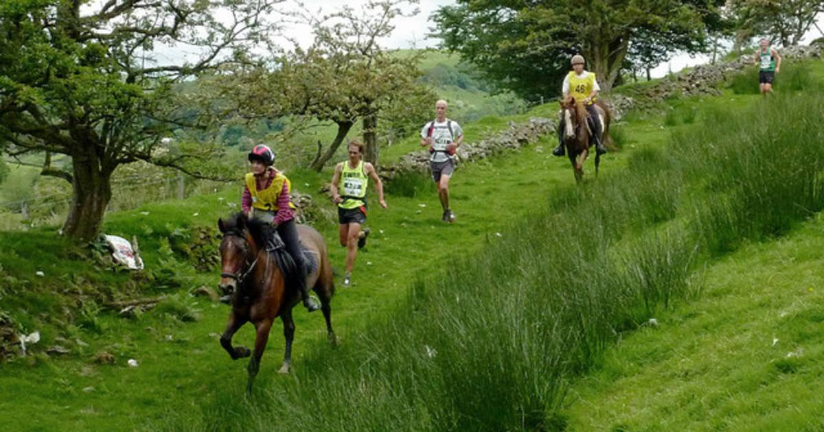 Man v Horse Marathon in Wales - Best Time