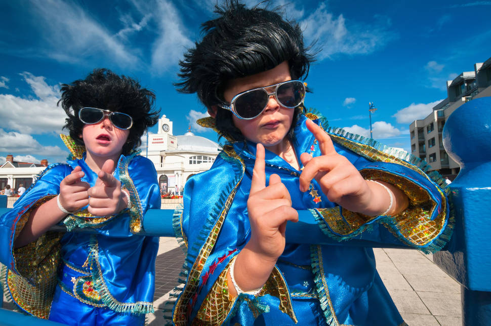Porthcawl Elvis Festival in Wales - Best Time