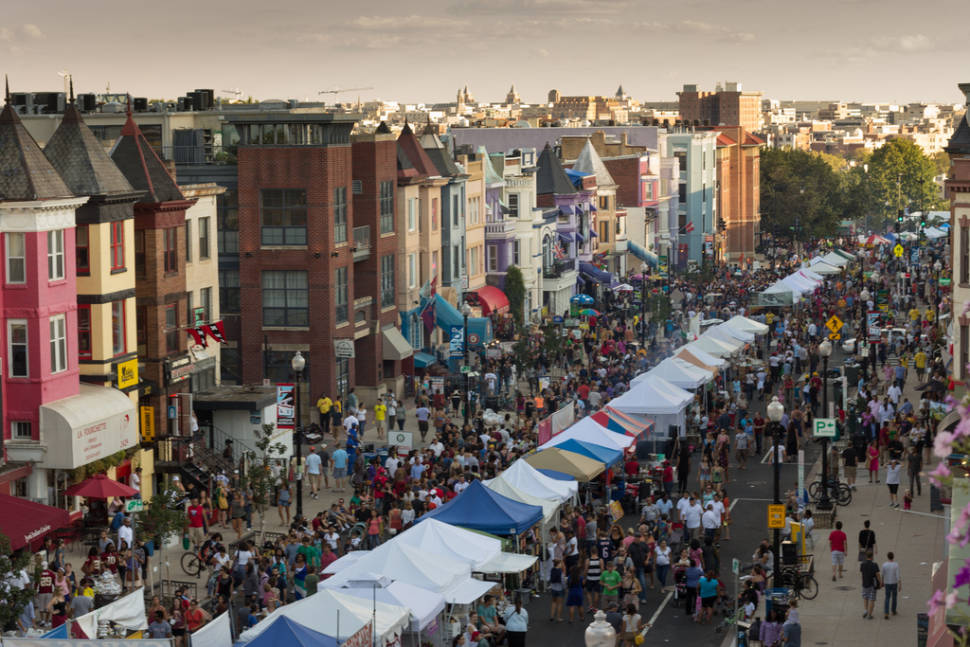 Best time for Adams Morgan Day in Washington, D.C.