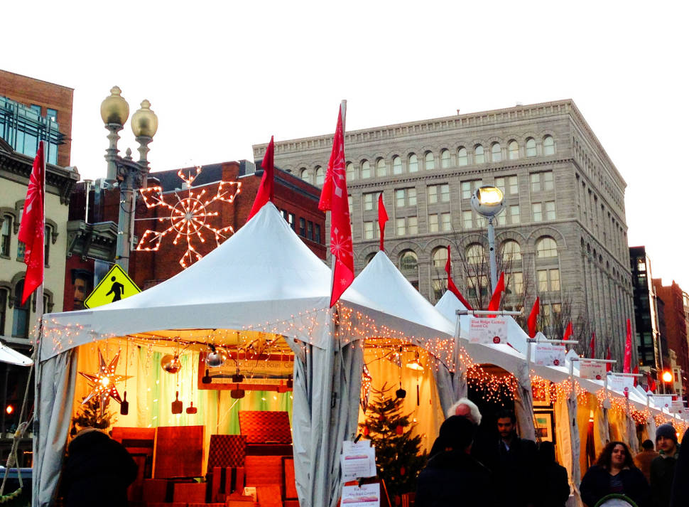 Best time for Downtown Holiday Market in Washington, D.C.