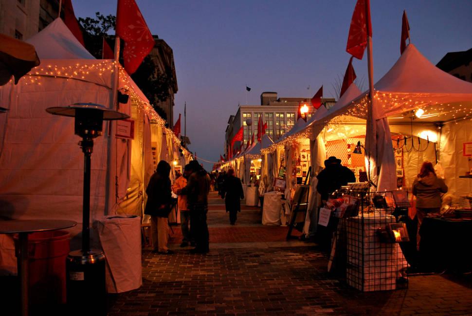 Downtown Holiday Market in Washington, D.C. - Best Season