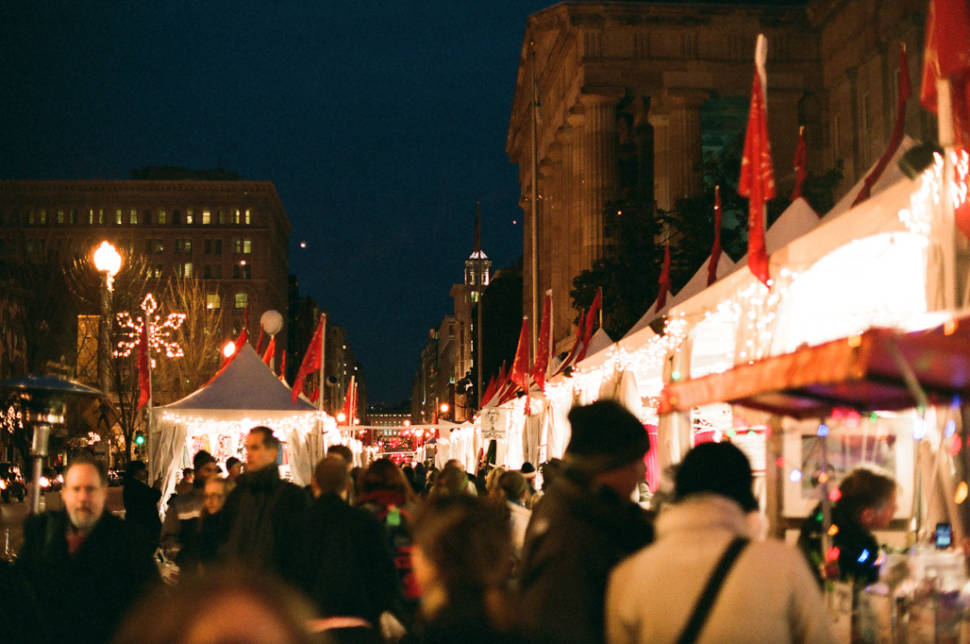 Downtown Holiday Market in Washington, D.C. - Best Time
