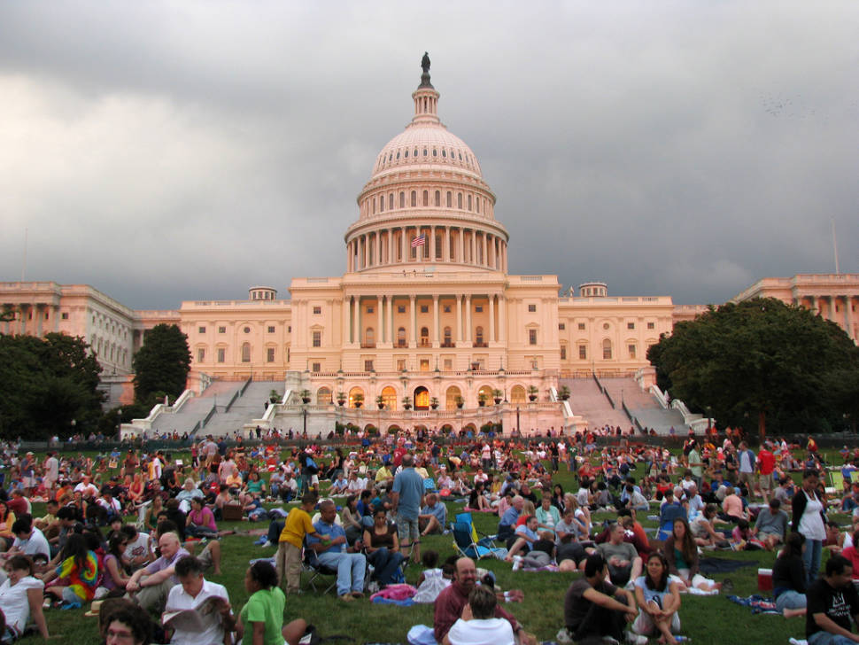 The National Symphony Orchestra: 2009 Labor Day Capitol Concert on the West Lawn on the U.S. Capitol in Washington D.C.