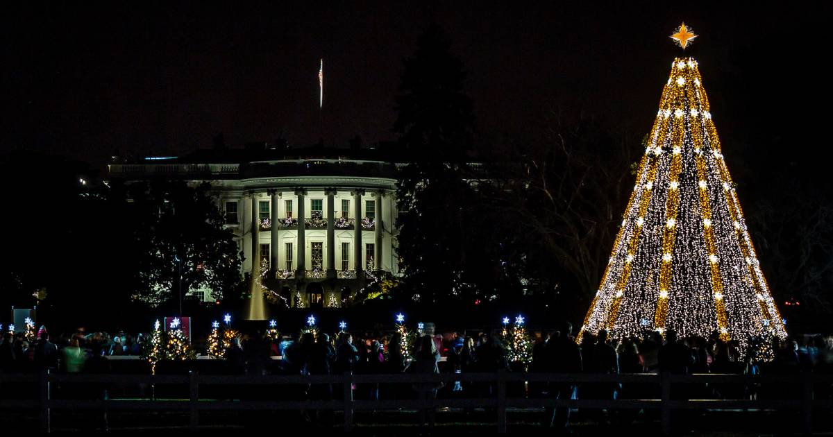 National Christmas Tree Lighting Ceremony 2018 in Washington, D.C. ...