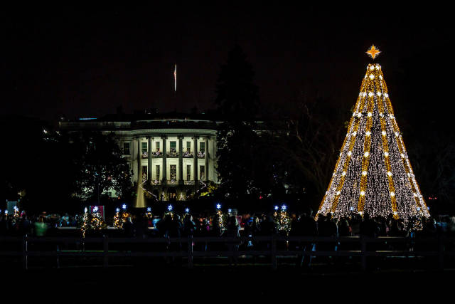 National Christmas Tree Lighting Ceremony in Washington, D.C. - Best Time