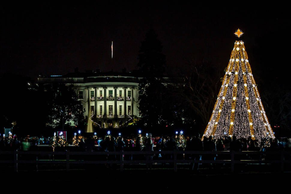national christmas tree lighting ceremony in washington dc best time - When Did Christmas Become A National Holiday