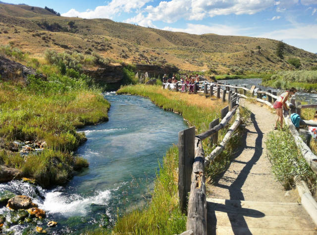 Swim in Boiling River in Yellowstone National Park - Best Season