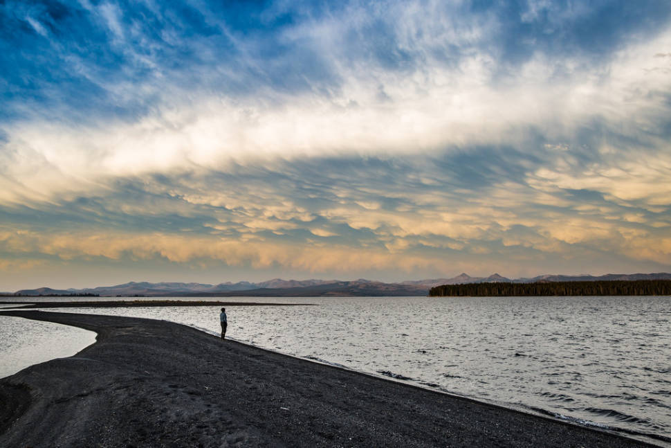Yellowstone Lake in Yellowstone National Park - Best Season