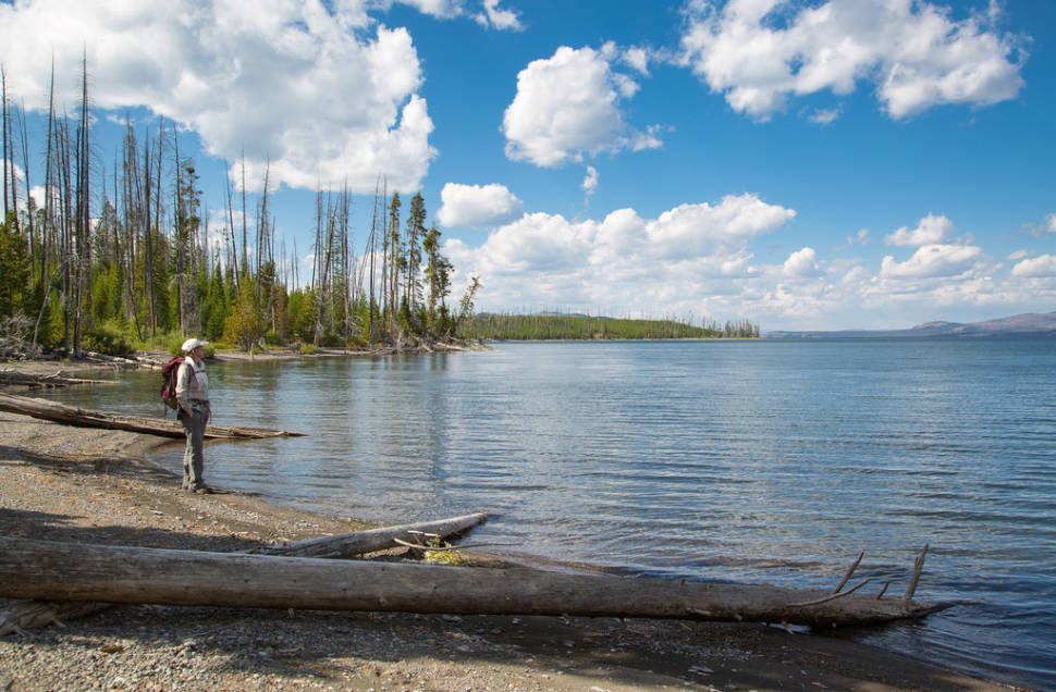 Yellowstone Lake in Yellowstone National Park - Best Time