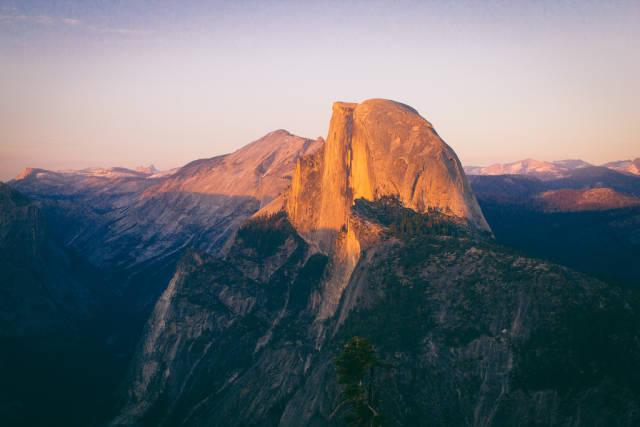 Yosemite Glacier Point Sunset