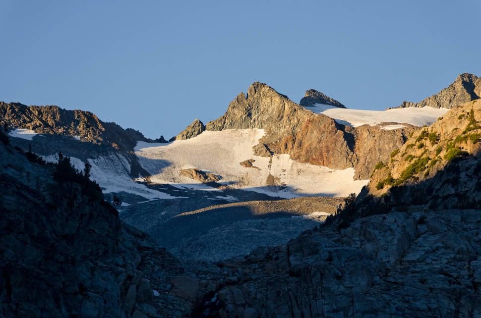 Lyell glaciers