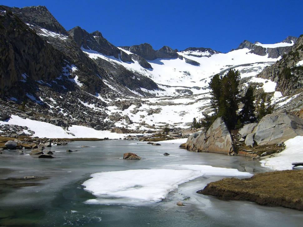 Glaciers in Yosemite - Best Time