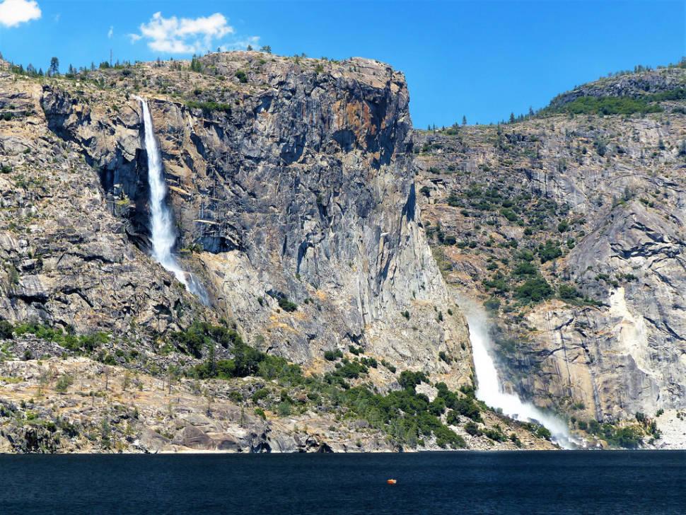 Tueeulala Falls and Wapama Falls