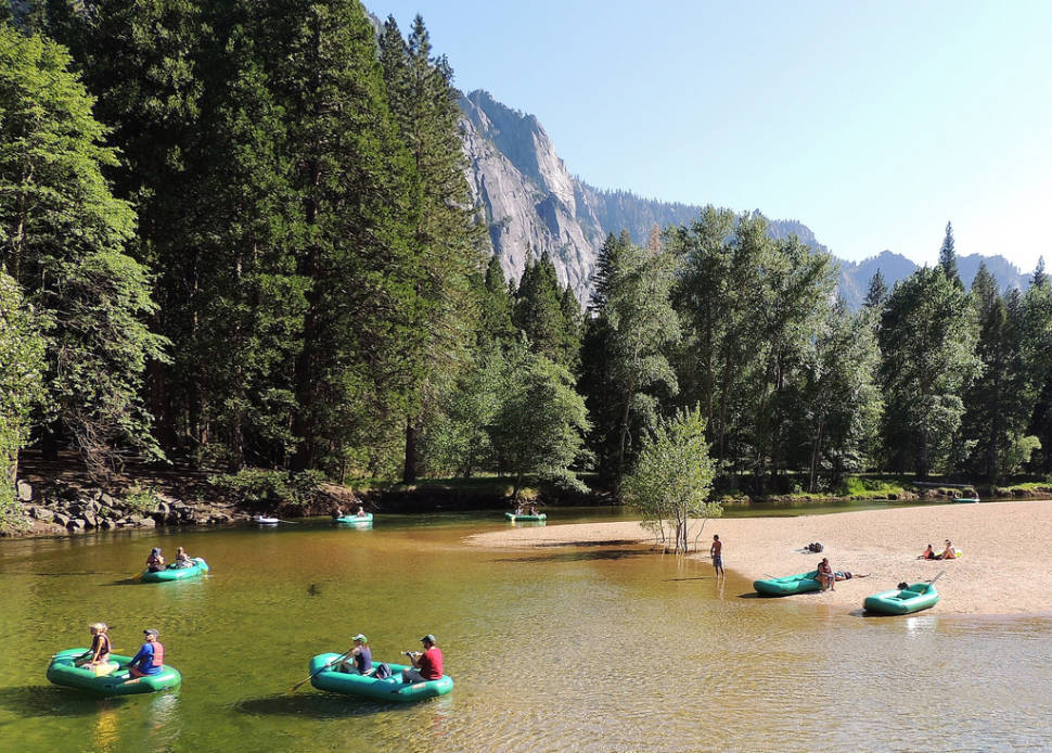 Rafting Along the Merced River in Yosemite - Best Time