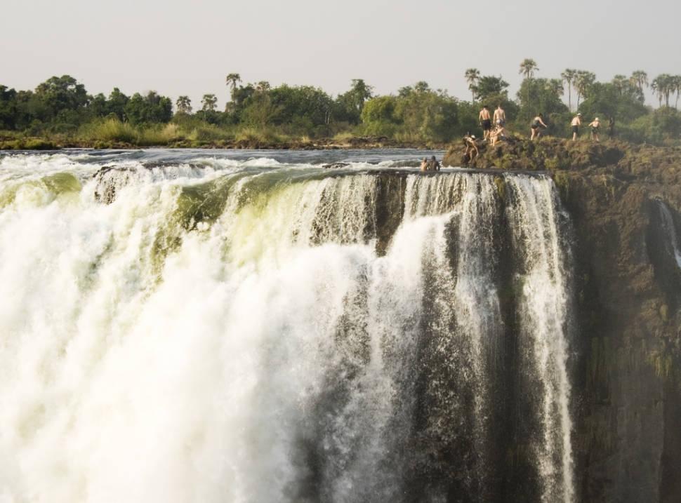 Devil's Pool in Zambia - Best Season